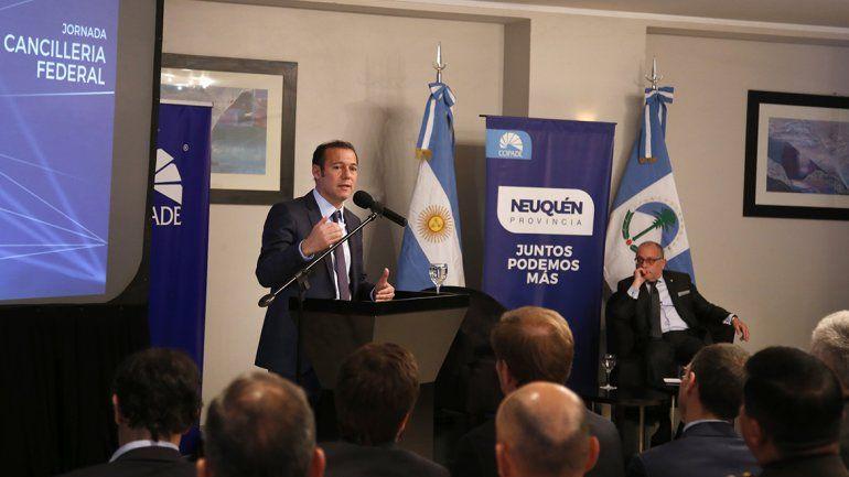 Con éxito se desarrolló la Jornada de Cancillería Federal en Neuquén