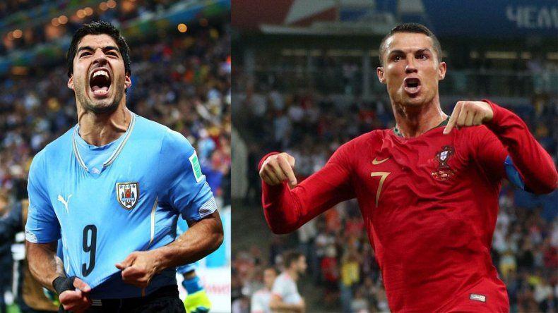 Suárez-Ronaldo, en el otro gran partido del día