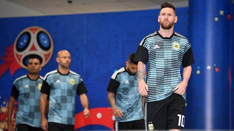 Así sale Argentina: con Pavón de titular