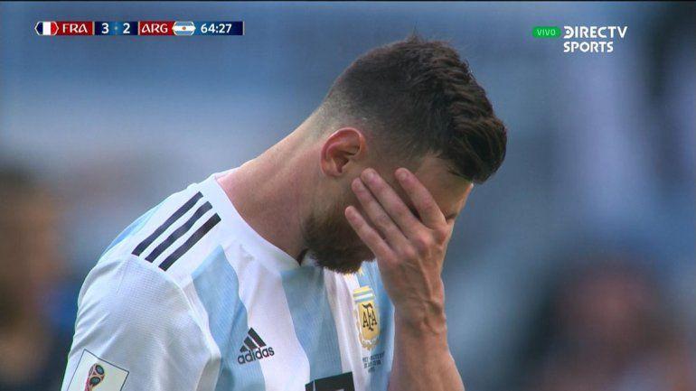 Tras la eliminación, Messi y sus compañeros dejan Rusia
