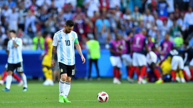 Así vivieron los famosos la eliminación de Argentina del Mundial