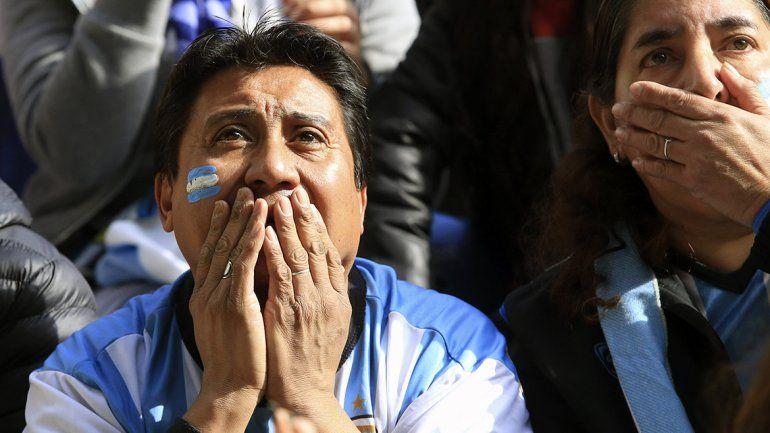 Cómo fue la última del partido para Argentina