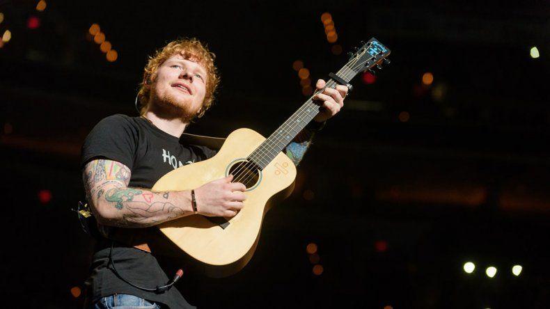 Sheeran incluyó el tema en su disco X