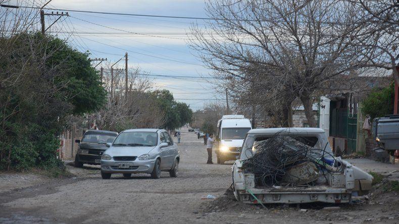 El Salvador es una de las calles donde se ha cometido la mayor cantidad de robos en el último tiempo.
