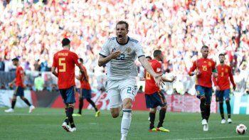 España eliminada: Rusia se impuso en la tanda de penales