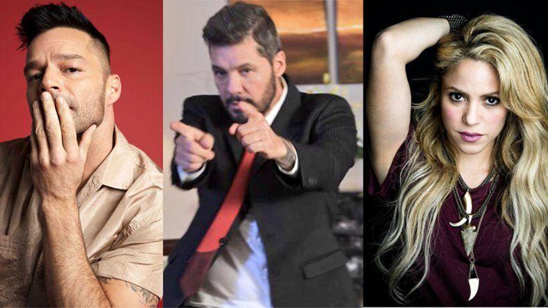 Tinelli planea la serie de Ricky para Netflix y pelea por Shakira