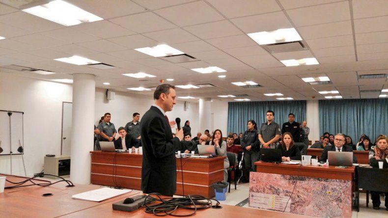 Maratónica jornada de alegatos en el juicio por el crimen de Fernanda Pereyra