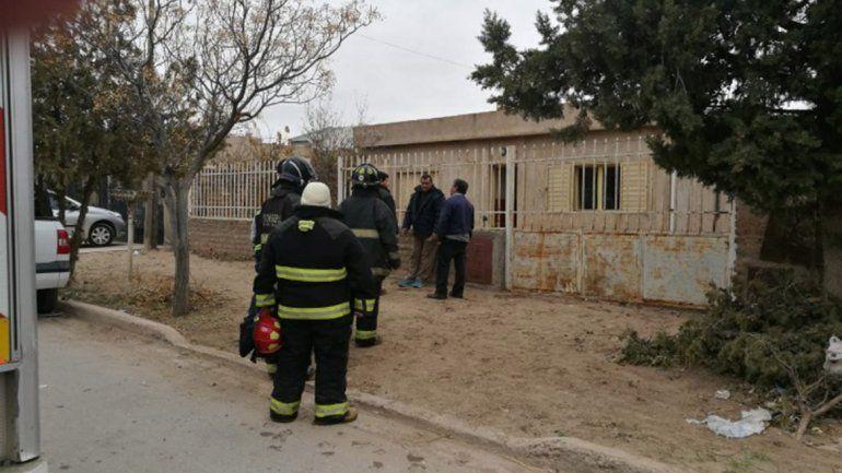 Plaza Huincul: una explosión de gas dejó a un padre y su hija en estado desesperante