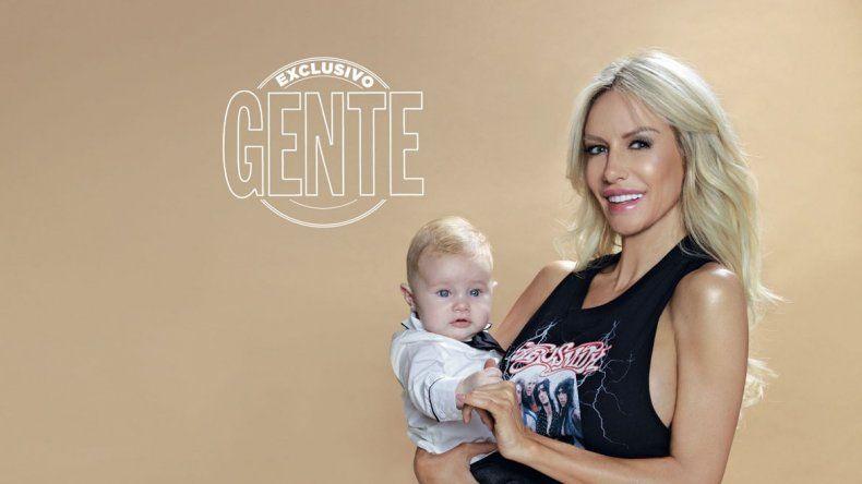 Pampita espera que la pequeña beba provoque en sus televidentes lo mismo que hace Mirko -el hijo de Marley- en Por el mundo.