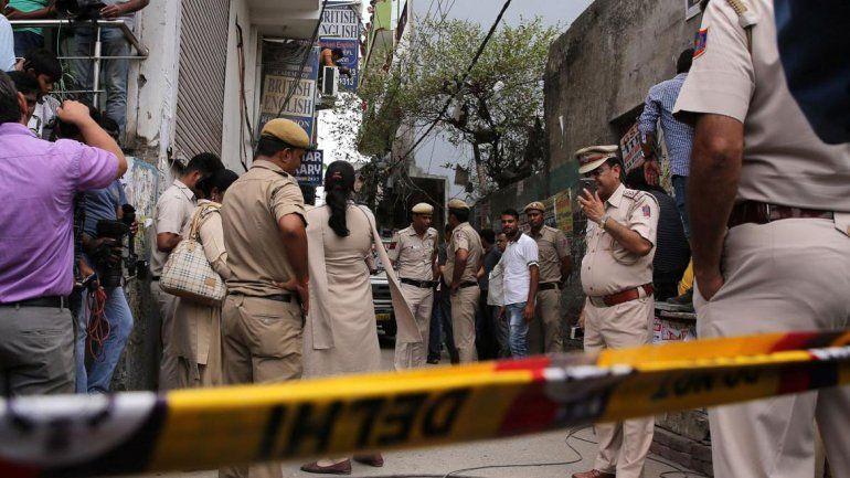 Entre las víctimas de la casa del horror en Nueva Delhi hay 5 chicos.