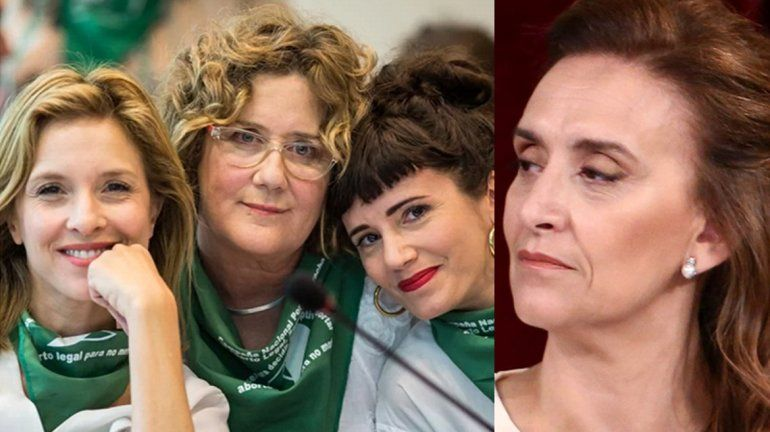 Las famosas, juntas contra Michetti: Señora, deje de hacer papelones