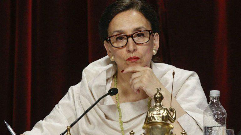 La vicepresidenta se refirió al debate que comenzará el 8 en el Senado.
