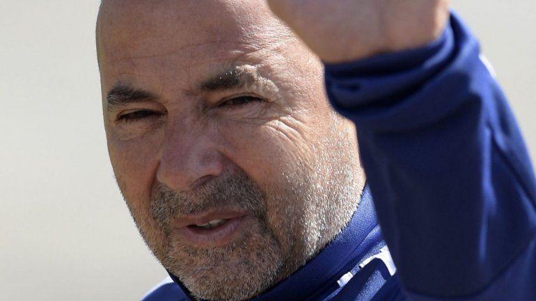 Jorge Sampaoli tiene las horas contadas al frente de la Selección argentina.