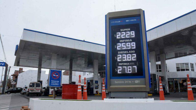 Volvieron a subir los precios de los combustibles