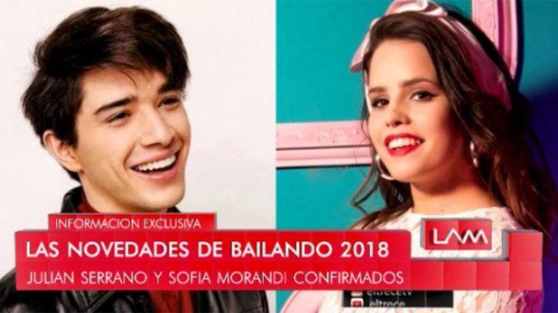 La neuquina Sofía Morandi confirmada para el Bailando 2018