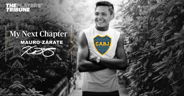 Los memes de la venta de Mauro Zárate a Boca