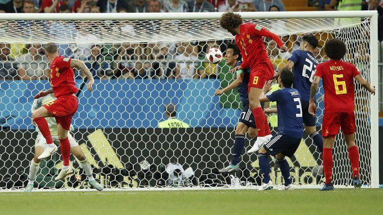 Con un gol agónico, Belgica le dio vuelta el partido a Japón