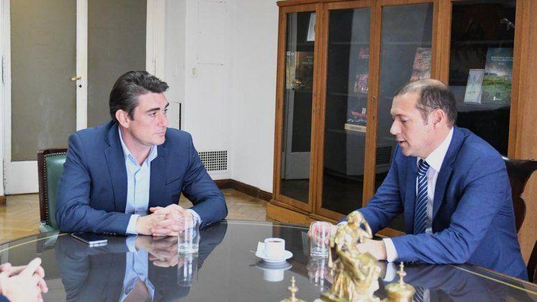 Gutiérrez con una nutrida agenda con las nuevas caras del Gabinete nacional