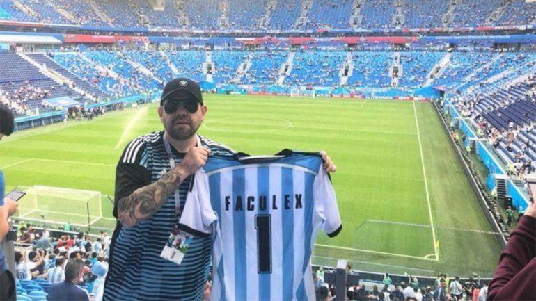 Salió en libertad condicional, fue al Mundial sin permiso y cayó preso tras la derrota argentina