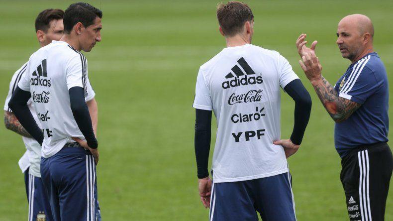 La idea de juego del técnico no se plasmó. Nunca se supo a lo que jugaba Argentina. Futbolísticamente