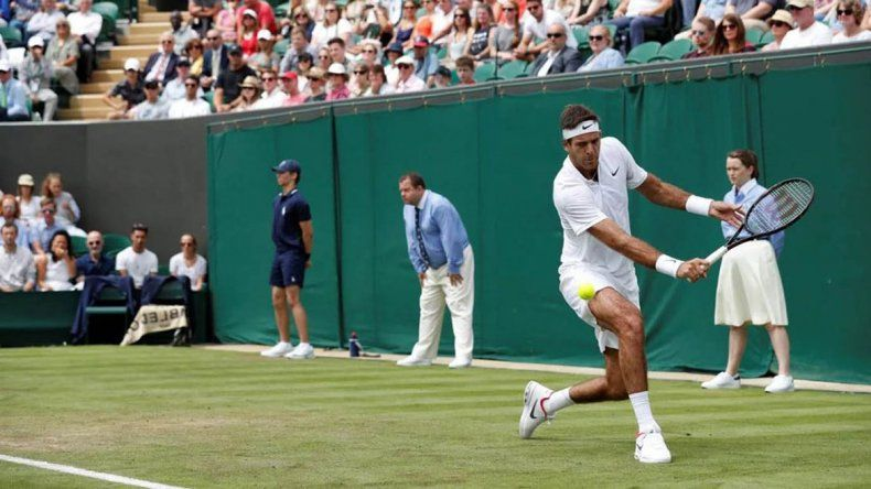 Del Potro y Schwartzman debutan con victoria en Wimbledon