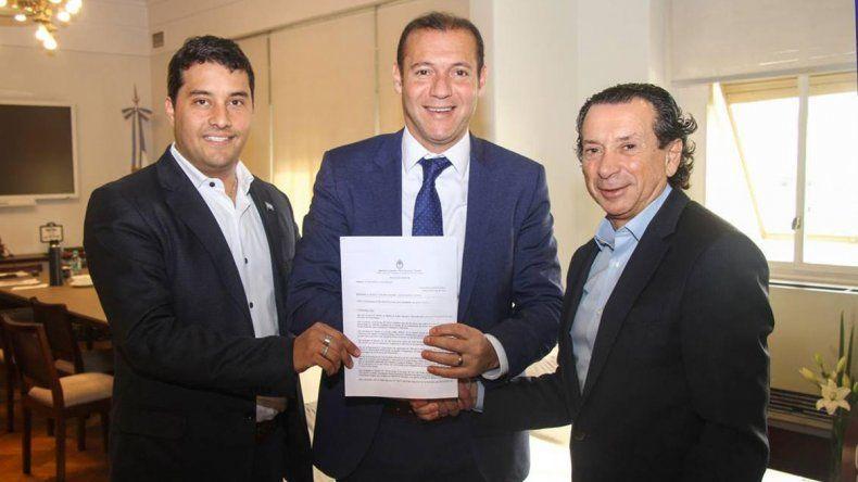 Nación firmó la adjudicación de la Zona Franca de Zapala
