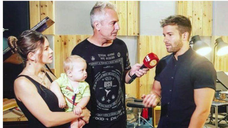 Marley y Mirko se dirigieron a España para encontrarse con la actriz.