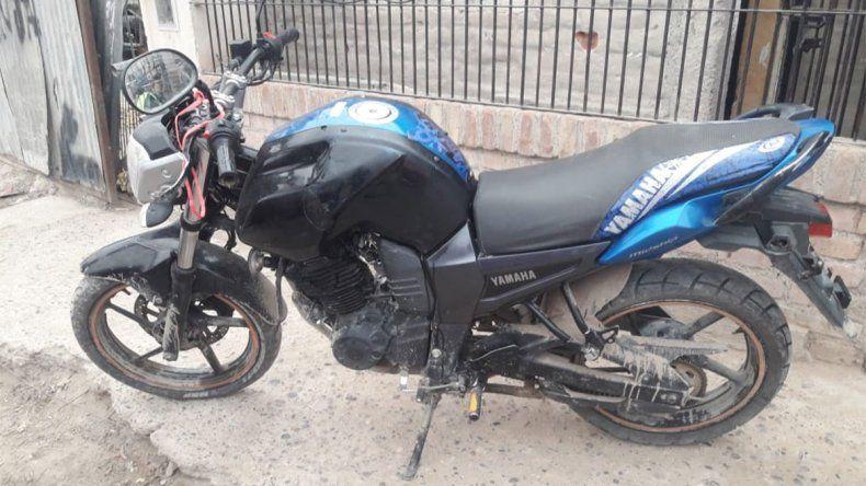 Recuperaron una costosa motocicleta que tenía pedido de captura