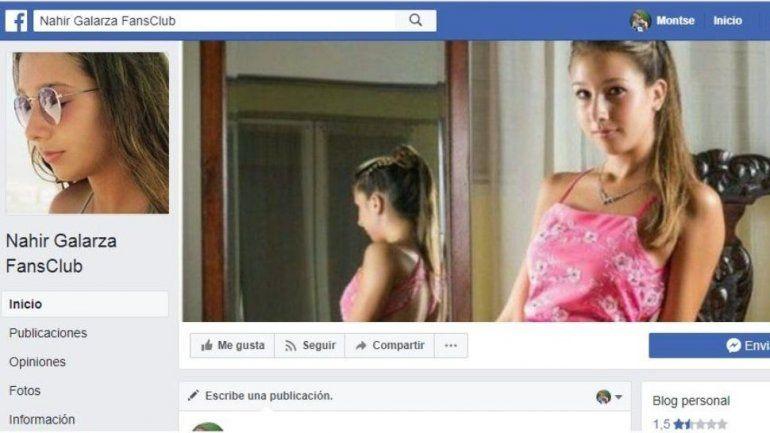Insólito club de fans en Facebook apoya a Nahir Galarza