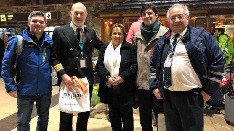 San Martín recibió el primer vuelo procedente de Córdoba