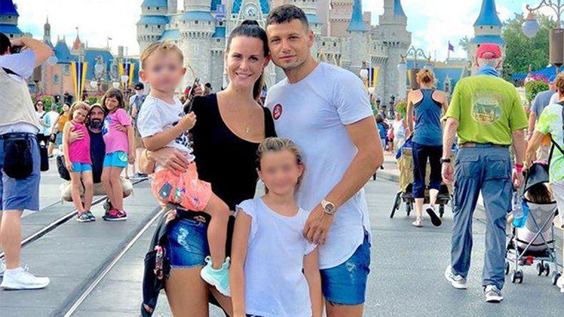 Mauro Zárate lloró y Natalie Weber denunció que quieren matar a sus hijos