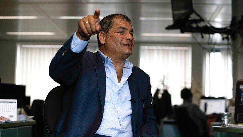 Correa aún no se entregó a la Justicia: Es un plan ilegal