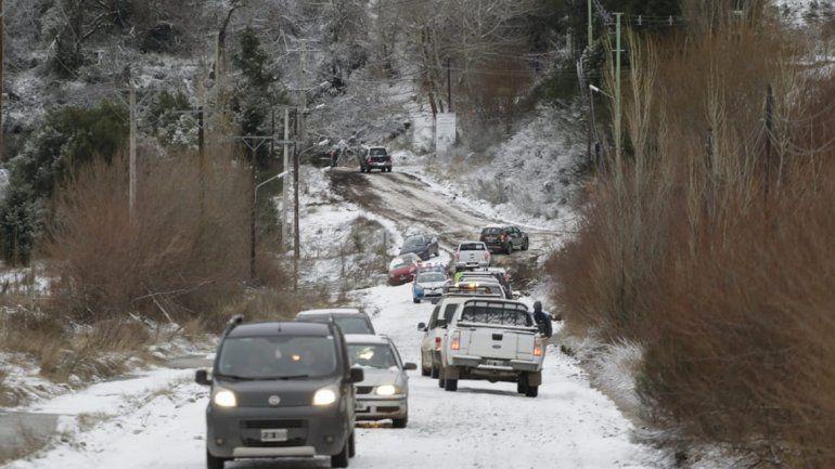 La nevada dejó sin clases a la cordillera