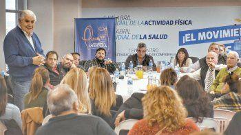Pereyra insiste en lograr un consenso dentro del MPN