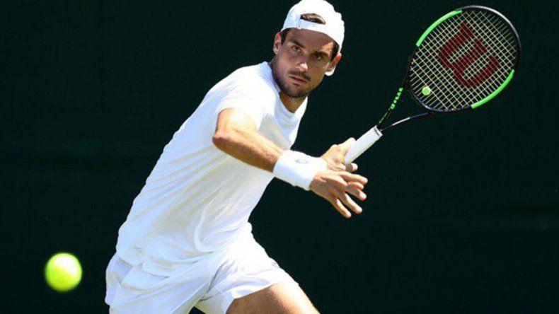 Tras la lluvia, Pella dio vuelta el partido y eliminó a Cilic en Wimbledon