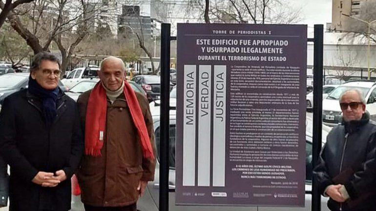 Funcionario visitó edificio usurpado en la dictadura