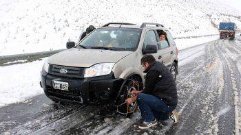 la nieve alcanzaria los 80 centimetros en algunas zonas