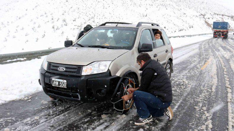 La nieve alcanzaría los 80 centímetros en algunas zonas