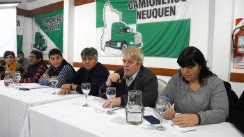 Se presentó la mesa neuquina del sindicalismo opositor a Macri