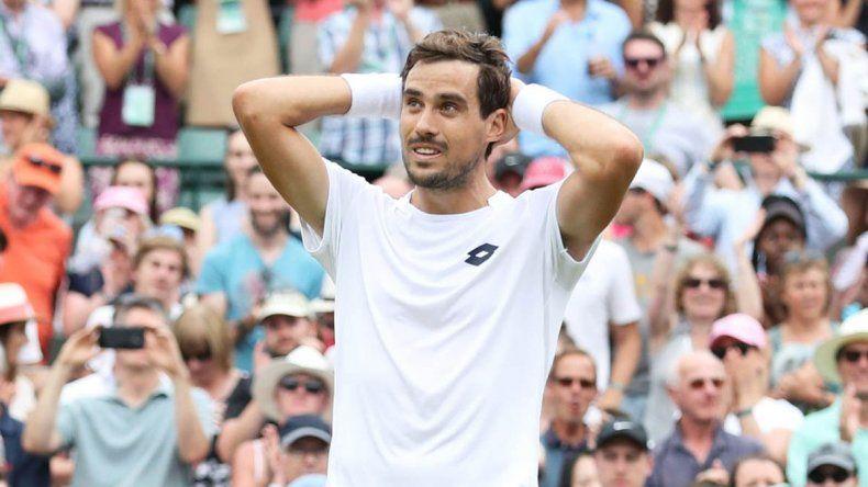 Guido Pella dio el batacazo y está en octavos de Wimbledon