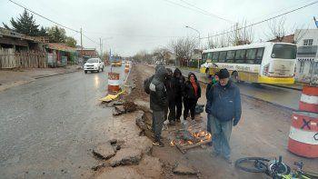 Obras del Metrobús: vecinos temen por la continuidad del transporte