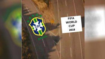 Los memes coparon las redes con Brasil eliminado