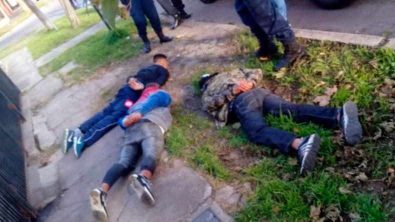Ladrones detenidos por el llamado de una nena al 911