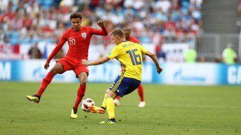 Inglaterra le ganó 2-0 a Suecia y va a la semifinal