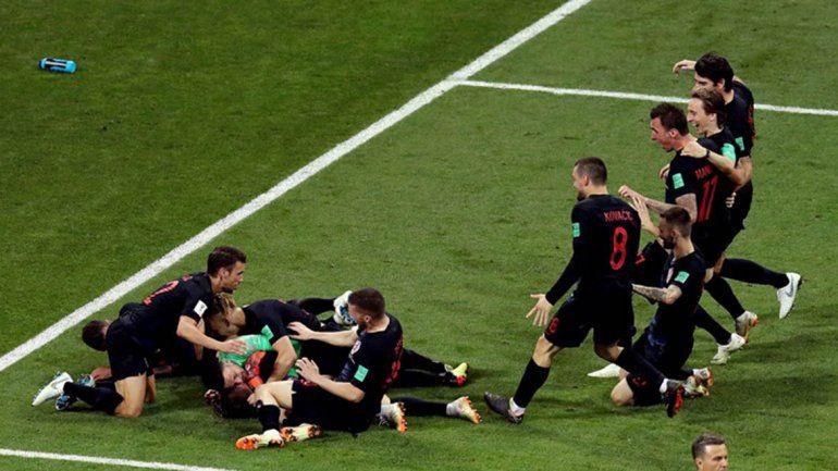Desde los doce pasos, Croacia eliminó a Rusia y llegó a semis