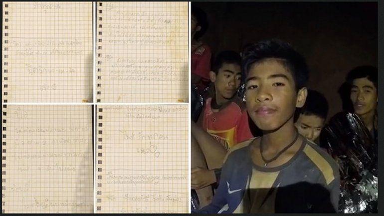 Tailandia: emotivas cartas de los niños a sus padres