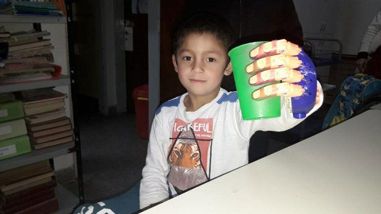 El regalo que le cambió la vida al pequeño Joaquín