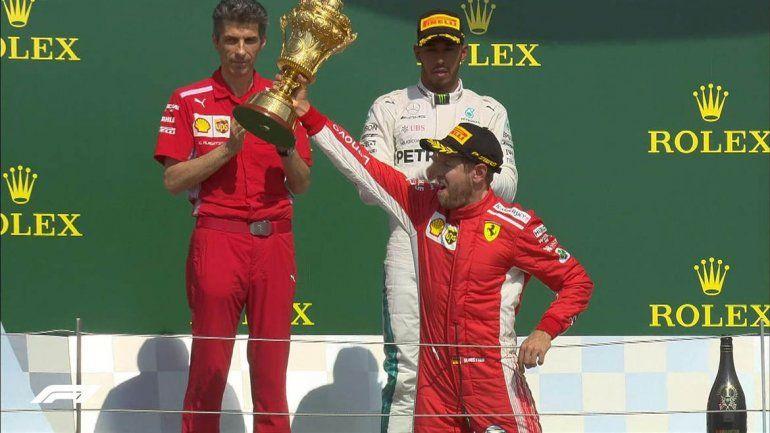 Vettel se quedó con el Gran Premio de Bretaña de Fórmula Uno