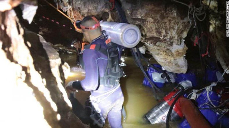 Así es el operativo rescate de los niños atrapados en la cueva