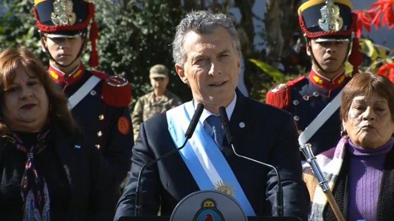 Macri: Seguimos apostando al enorme potencial que tenemos en Vaca Muerta